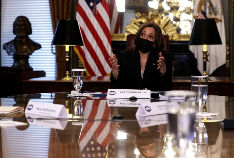 US - VICE - PRESIDENT - HARRIS - HOLDS - VIRTUAL - MEETING - WITH - NATIONAL - SEC